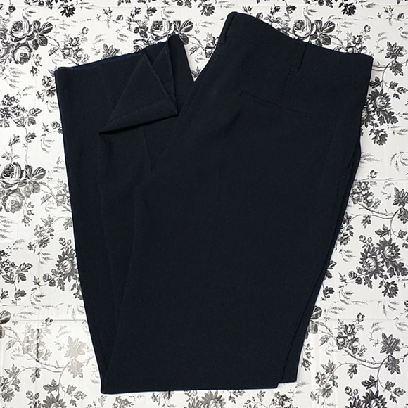 MaxMara Studio Collection Blue Career Trousers 16